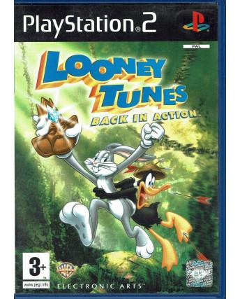 Videogioco Playstation 2 LOONEY TUNES BACK IN ACTION PS2 3+ EA ITA USATO