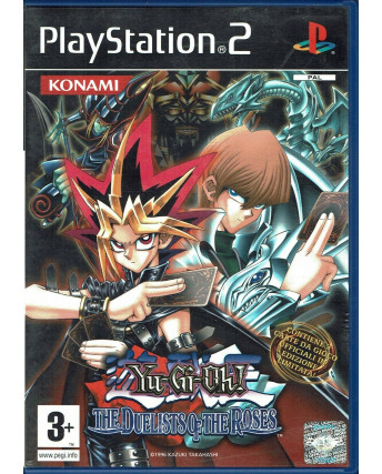 Videogioco Playstation 2 YU-GI-OH! THE DUELISTS OF THE ROSES PS2 no CARD ITA