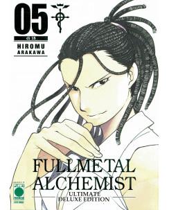 FullMetal Alchemist DELUXE  5 di Hiromu Arakawa ed. Panini