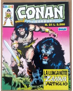 Conan il Barbaro Colore n.21 * Ed. Comic Art