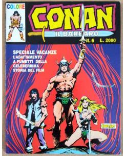 Conan il Barbaro Colore n. 6 * Ed. Comic Art