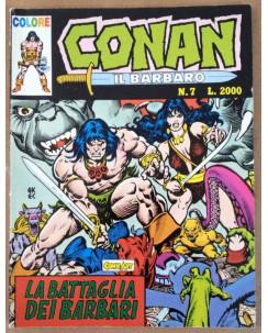 Conan il Barbaro Colore n. 7 * Ed. Comic Art
