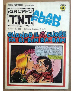 Alan Ford Gruppo TNT n. 32 * Magnus & Max Bunker * Ed. Corno
