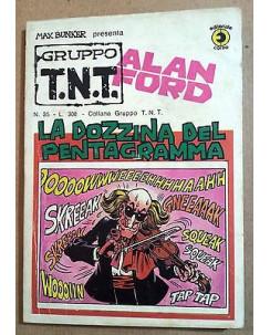 Alan Ford Gruppo TNT n. 35 * Magnus & Max Bunker * Ed. Corno