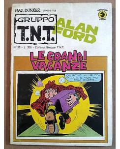 Alan Ford Gruppo TNT n. 38 * Magnus & Max Bunker * Ed. Corno