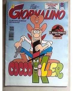 Il Giornalino anno LXXIII n. 43 - 29 ottobre 1997 * JACOVITTI * ed. San Paolo