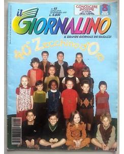 Il Giornalino anno LXXIII n. 45 - 12 novembre 1997 * JACOVITTI * ed. San Paolo