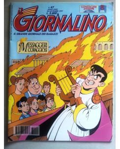Il Giornalino anno LXXIII n. 47 - 26 novembre 1997 * JACOVITTI * ed. San Paolo
