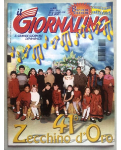Il Giornalino anno LXXIV n. 46 - 22 novembre 1998 * ed. San Paolo