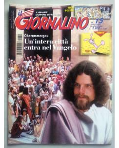 Il Giornalino anno LXXVI n. 15 - 16 aprile 2000 * JACOVITTI * ed. San Paolo