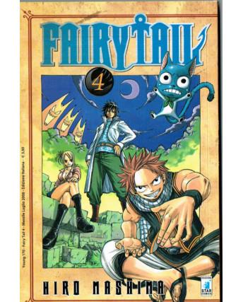 Fairy Tail  4 di Hiro MAshima ed.Star Comics