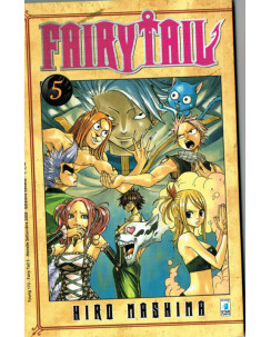 Fairy Tail  5 di Hiro MAshima ed.Star Comics