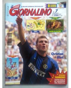 Il Giornalino anno LXXVI n. 7 - 20 febbraio 2000 * STURMTRUPPEN * ed. San Paolo