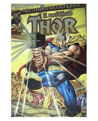 Il Mitico Thor n.  1 di Romita Jr il ritorno degli eroi ed. Marvel Italia