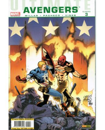 Ultimate Comics Avengers  3 di Mark Millar ed.Panini