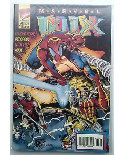 Marvel Mix N.  4 - L'Uomo Ragno Deadpool Nick Fury Hulk - Edizioni Marvel Italia