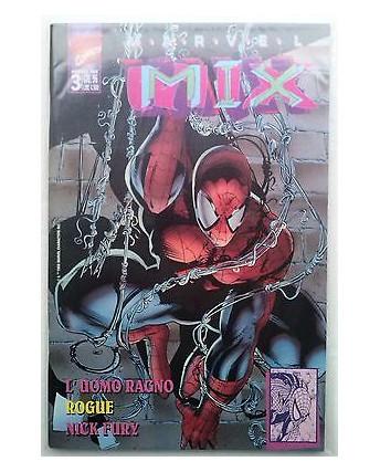 Marvel Mix N.  3 L'Uomo Ragno Rouge Nick Fury - Edizioni Marvel Italia
