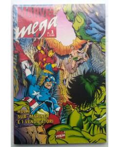 Marvel Mega N.  1 - Hulk Sub-Mariner e I Vendicatori - Edizioni Marvel Italia
