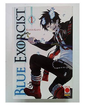 Blue Exorcist n. 1 di Kazue Kato * 1a Ristampa ed. Planet Manga