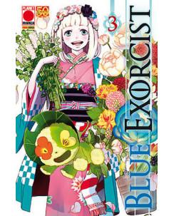 Blue Exorcist n. 3 di Kazue Kato - Prima Ristampa Planet Manga