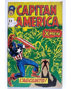 Capitan America n.  8 * ed. Corno