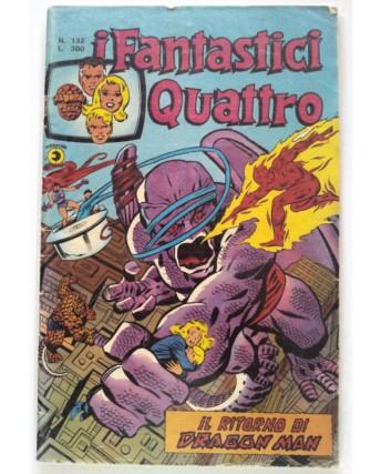 Fantastici Quattro n. 132 * ed. Corno