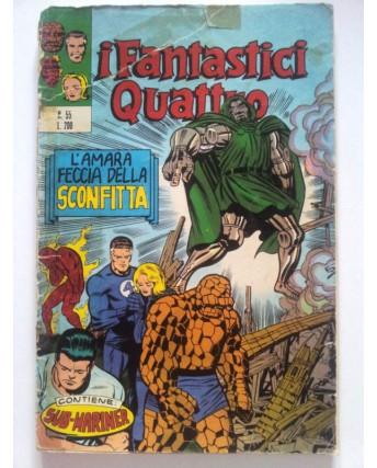 Fantastici Quattro n.  55 * ed. Corno