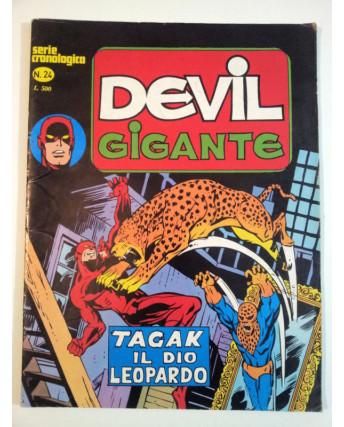 Devil Serie Cronologica n. 28 - Serie Gigante * ed. Corno FU03