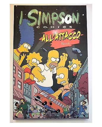 l Simpson Comics:  All'Attacco di Matt Groening * NUOVO -50% * Rizzoli FU05