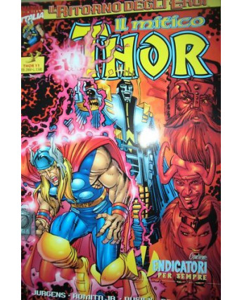 Il Mitico Thor n. 11 *ed. Marvel Italia