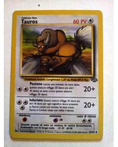 P0005 POKEMON - Tauros 47/64 * Jungle - Italiano Non Comune Pokémon