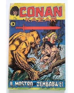 Conan e Kazar n. 2 * ed. Corno