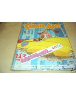 Comic Art la rivista dello spettacolo n.  7 Giardino, Bonvi, Pratt, Quino FU03