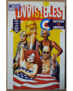 Invisibles inferno in America di Grant Morrison ed.Magic Press NEW sconto 50%