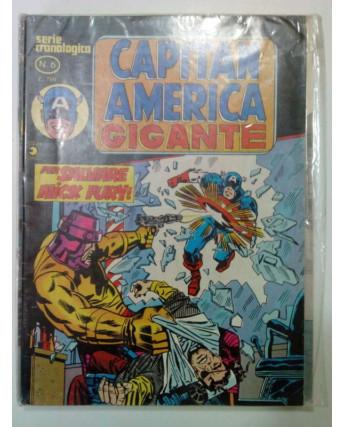 Capitan America Gigante Serie Cronologica n. 6 - ed. Corno FU03