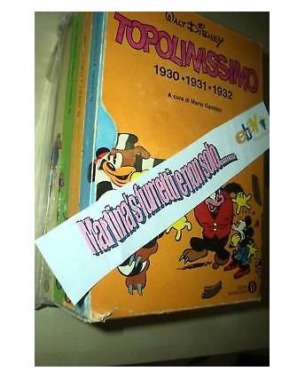 Topolinissimo 1930 31 32  Oscar Mondadori cofanetto 1°e