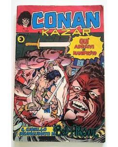 Conan e Kazar n. 1 * ed. Corno