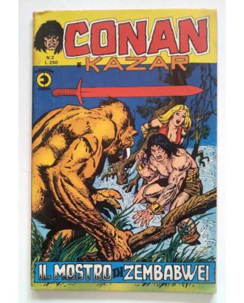 Conan e Kazar n. 2 * di resa * ed. Corno