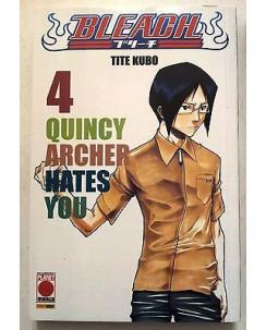 Bleach n. 4 di Tite Kubo * Terza Ristampa Planet Manga * NUOVO!!! *