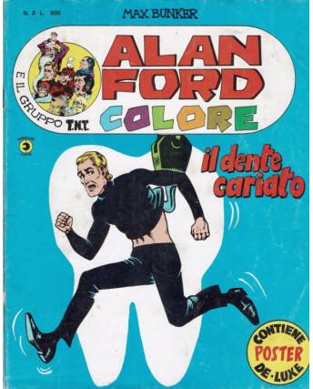Alan Ford e il Gruppo T.N.T. COLORE n. 2 di Max Bunker Anno I 1979 ed Corno FU03