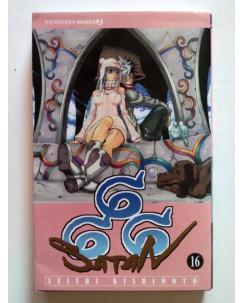 666 Satan di Seishi Kishimoto N.16 ed. Jpop