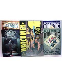 Alan Moore SUPERPACK: Watchmen, Tomorrow Stories, Il Cortile, Liriche di Sangue