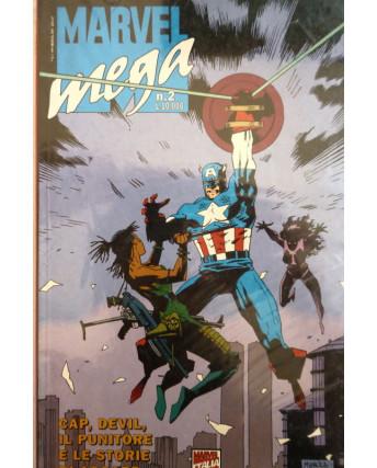 "MARVEL MEGA n.  2 "" L' azzardo di Von Strucker "" ed. Marvel  Italia"