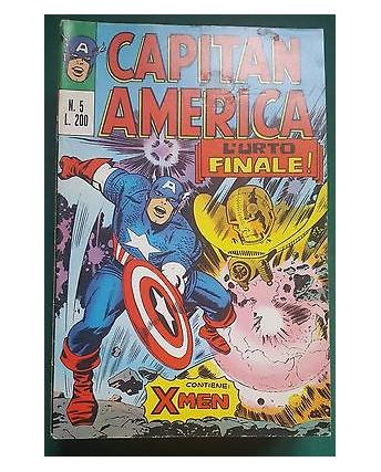 Capitan America n.  5 ed.Corno