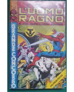 Il settimanale de l'Uomo Ragno e dei Super-Eroi Marvel n.  2 ed. Corno
