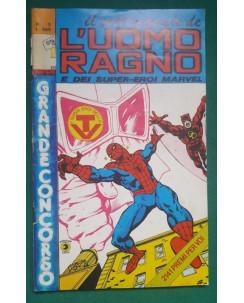 Il settimanale de l'Uomo Ragno e dei Super-Eroi Marvel n.  3 ed Corno NO BOLLINO