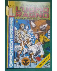 Il settimanale de l'Uomo Ragno e dei Super-Eroi Marvel n.  5 ed Corno NO BOLLINO