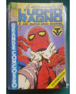 Il settimanale de l'Uomo Ragno e dei Super-Eroi Marvel n.  6 ed Corno NO BOLLINO