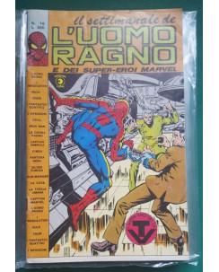 Il settimanale de l'Uomo Ragno e dei Super-Eroi Marvel n. 16 ed. Corno