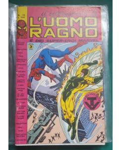 Il settimanale de l'Uomo Ragno e dei Super-Eroi Marvel n. 19 ed. Corno